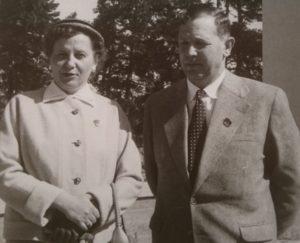 Irena i Edward Pietkiewicz 1957r.